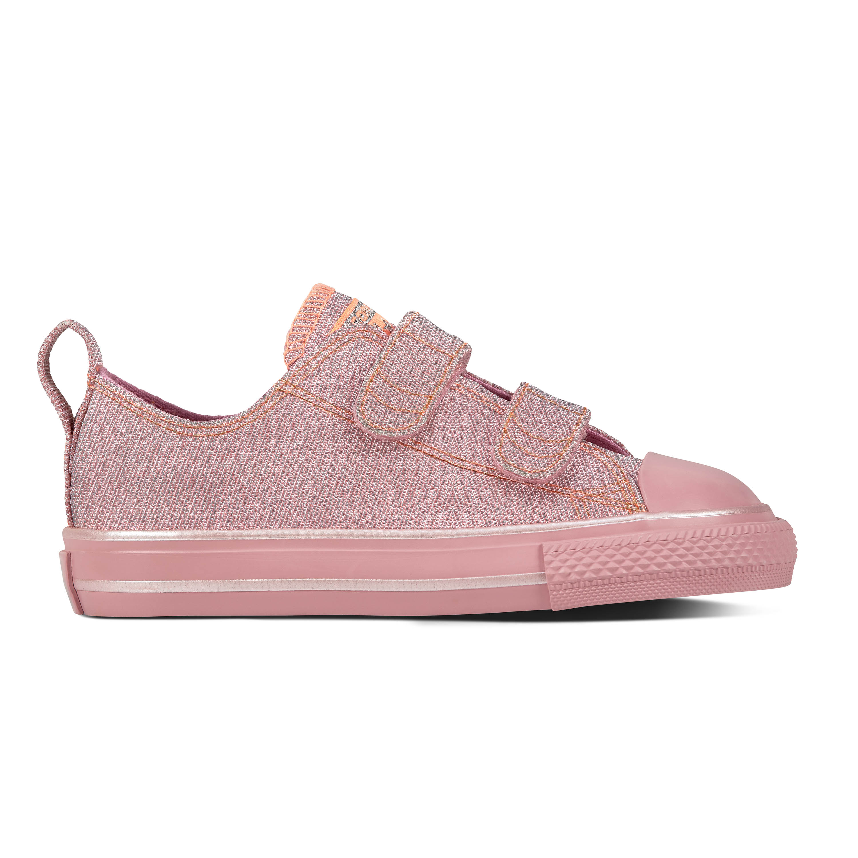3f1bf4209960 CONVERSE GLITTER CANVAS Hook and loop glitter shoe