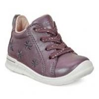 d33e532f243 ECCO FIRST 754251 Girls leather first shoe with lace and zip